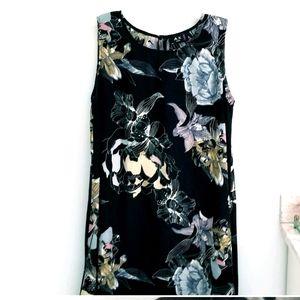 AX Paris black floral sheath dress plus 16